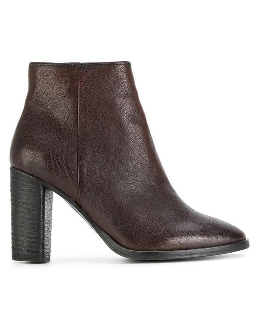 N.d.c. Made By Hand - Brown Zipped Ankle Boots - Lyst