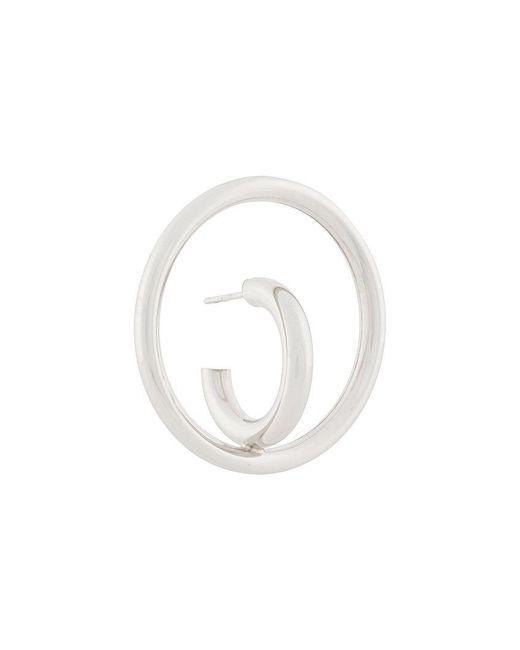 Charlotte Chesnais - Metallic Saturn Blow Large Earring - Lyst