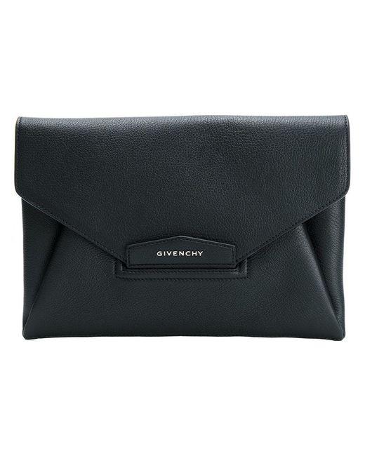 Givenchy - Black Large Antigona Clutch - Lyst
