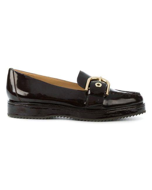 MICHAEL Michael Kors | Brown Cooper Slip-on Loafers | Lyst