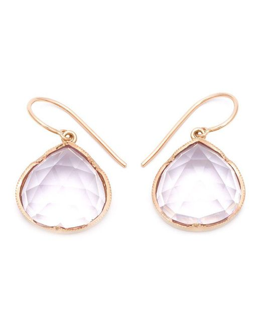 Irene Neuwirth - Metallic Drop Earrings - Lyst