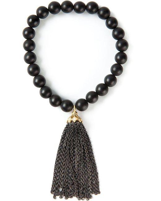 Loree Rodkin | Black 'lucky' Bracelet | Lyst