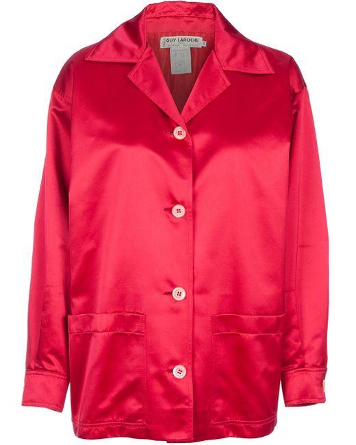 Guy Laroche | Red 80's Style Jacket | Lyst