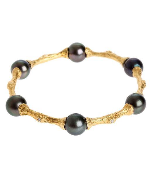 Samira 13 | Metallic Silver Bracelet | Lyst