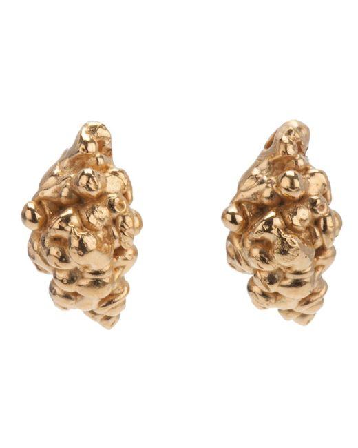 Imogen Belfield | Metallic 'little Droplets' Earrings | Lyst