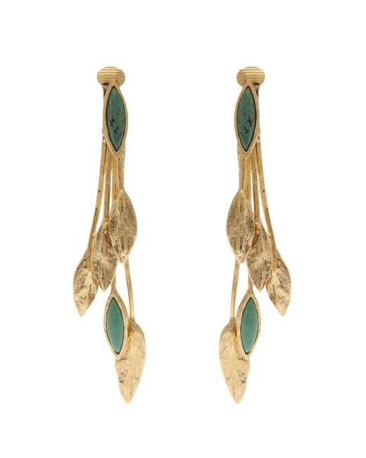 Aurelie Bidermann | Green 'malibu' Earring | Lyst