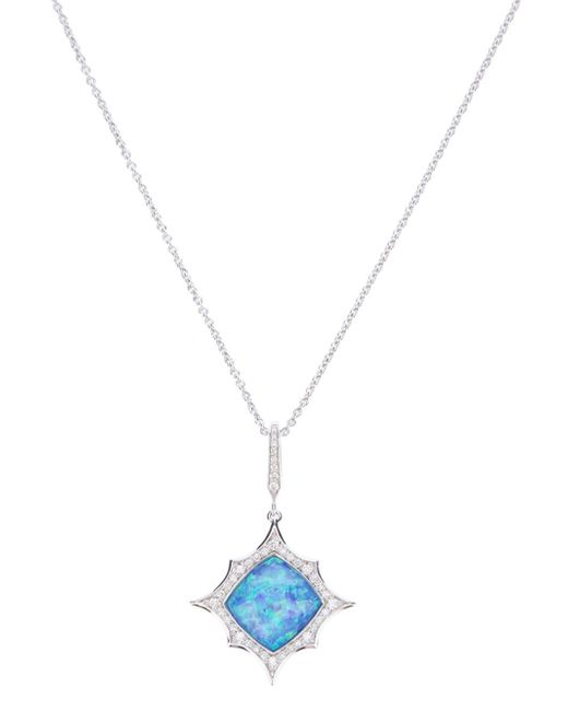Stephen Webster | White 'crystal Haze' Spark Pendant | Lyst
