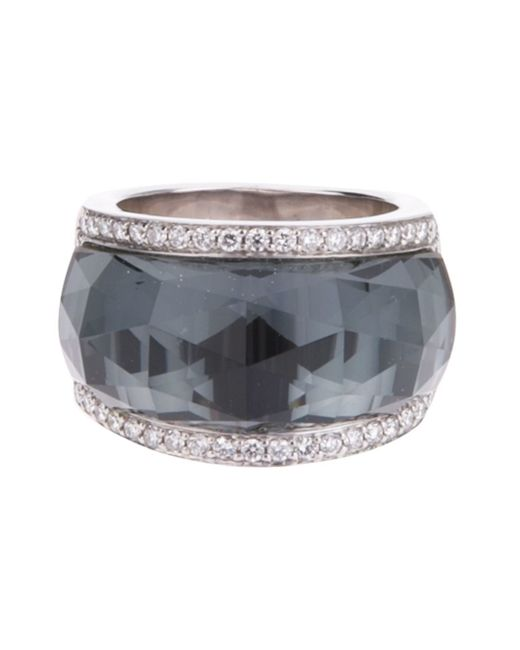 Stephen Webster | Black 'classic Crystal Haze' Ring | Lyst