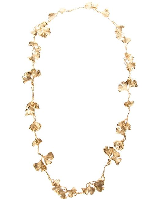 Aurelie Bidermann | Metallic 'tangerine' Necklace | Lyst