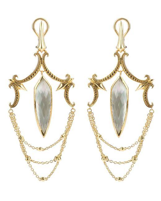 Stephen Webster | Metallic Large Chandelier Earrings | Lyst