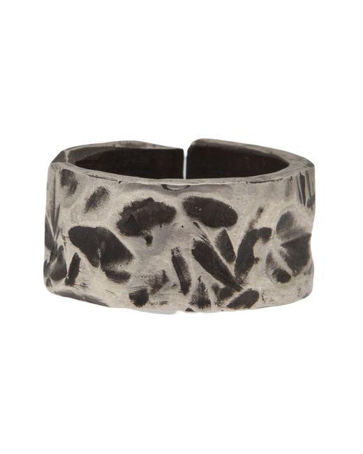 Henson | Metallic Carved Split Ring | Lyst
