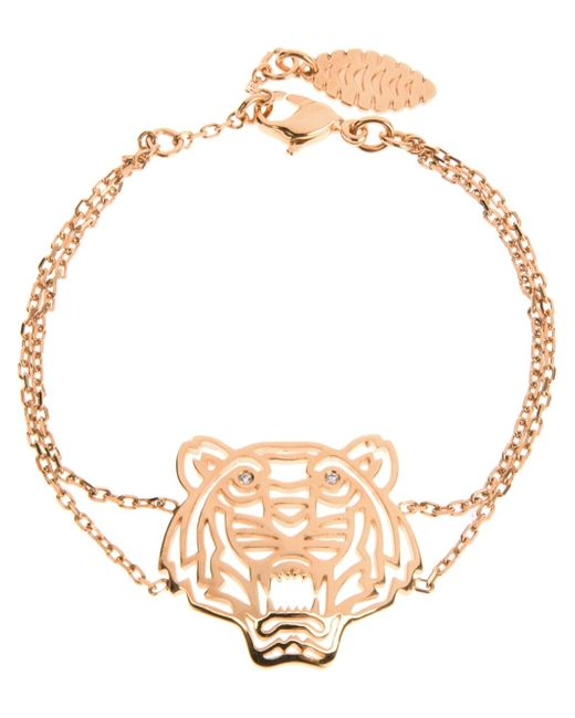 KENZO | Metallic 'tiger' Bracelet | Lyst