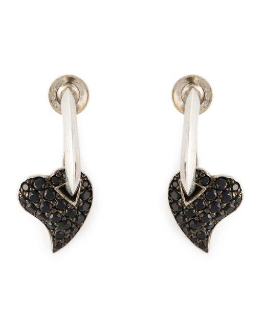 Shaun Leane | Metallic 'hook My Heart' Earrings | Lyst