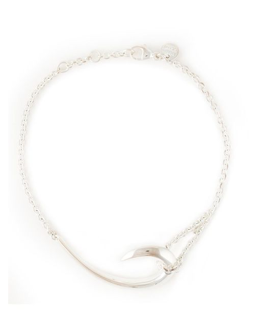 Shaun Leane | Metallic Sterling Silver Hook Bracelet | Lyst