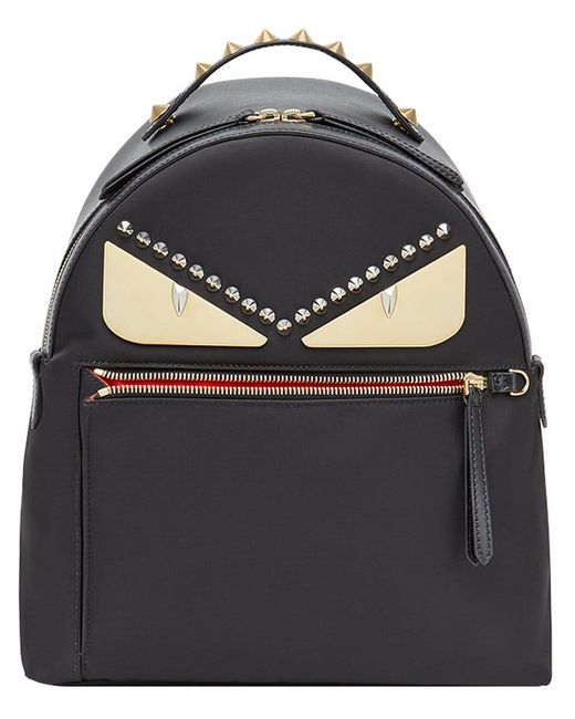 a4e4e3b38313 Lyst - Fendi Bag Bugs Backpack in Black - Save 8%