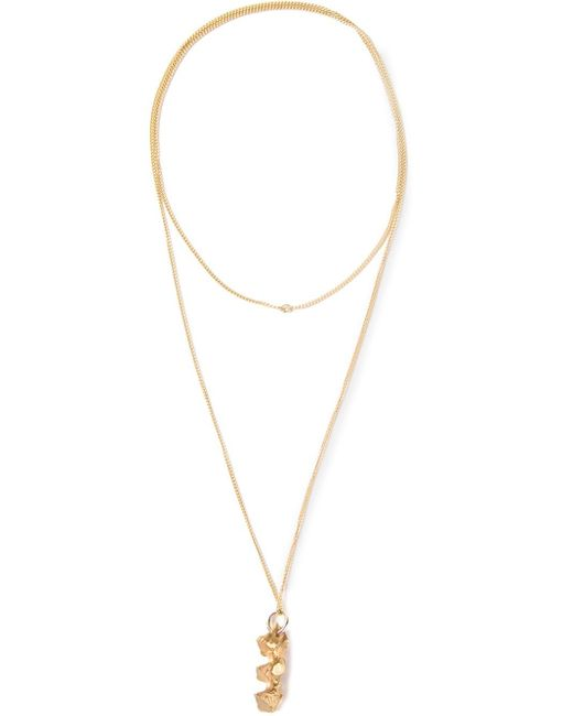 Imogen Belfield | Metallic 'triple Star' Necklace | Lyst