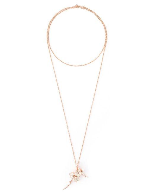Shaun Leane | Blue 'cherry Blossom' Long Pendant Necklace | Lyst