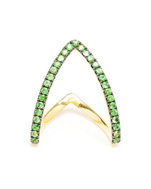 Yvonne Léon | Metallic Yvonne Léon 'viviane' Ring | Lyst