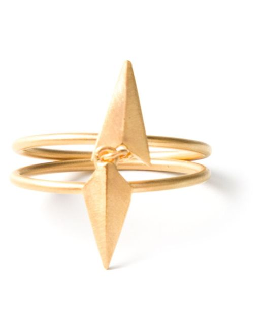 Maria Black | Metallic 'd'arling Double' Ring | Lyst