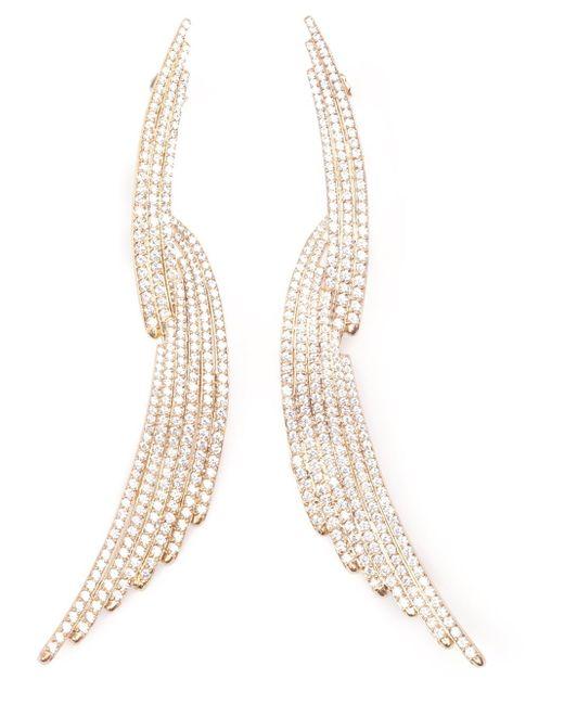 Joanna Laura Constantine | Metallic Long Earrings | Lyst