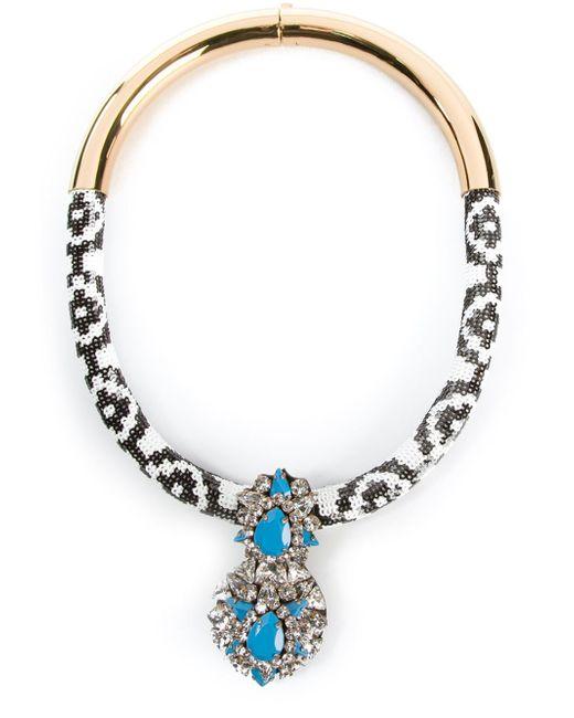 Shourouk | Blue 'zulu' Necklace | Lyst
