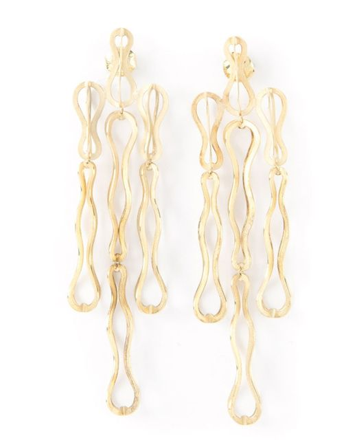 Antonio Bernardo | Metallic 'fertil' Earrings | Lyst