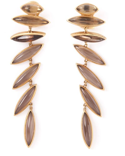 Antonio Bernardo | Metallic 18kt Yellow Gold 'wing' Clip-on Earrings | Lyst