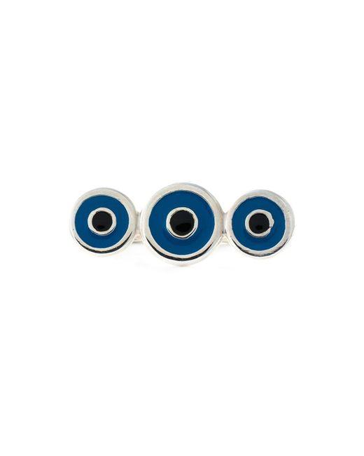 Ileana Makri | Metallic 'triple Lucky Eye' Ring | Lyst