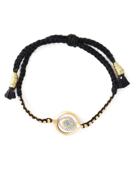 Ileana Makri | Black 'happy Eye' Bracelet | Lyst