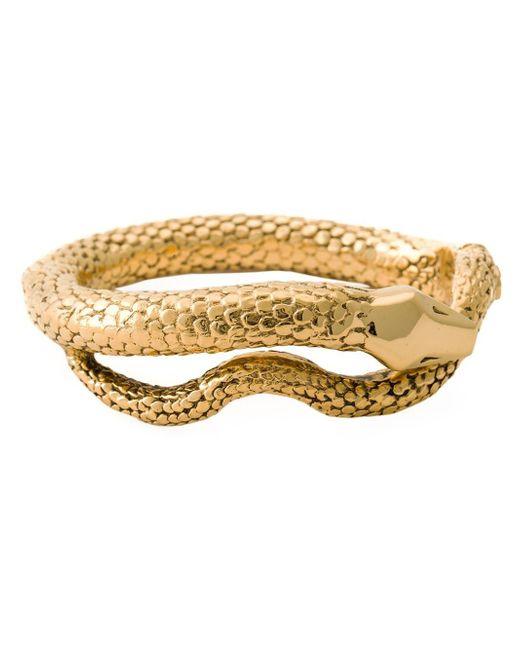 Aurelie Bidermann | Metallic 'tao' Snake Bracelet | Lyst
