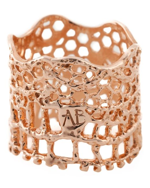 Aurelie Bidermann | Pink 'vintage Lace' Ring | Lyst