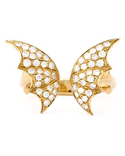 Stephen Webster | Metallic Large 'crystal Haze' Ring | Lyst