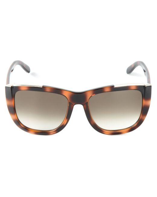 Chloé | Brown 'dallia' Sunglasses | Lyst