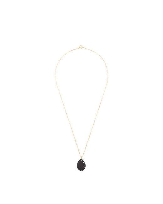 Cvc Stones | Black Pendant Necklace | Lyst
