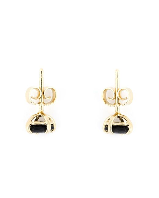 Wouters & Hendrix | Black Onyx Stud Earrings | Lyst
