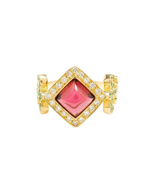 Sabine G | Metallic 18k Yellow Gold Domi Rosa Ring | Lyst