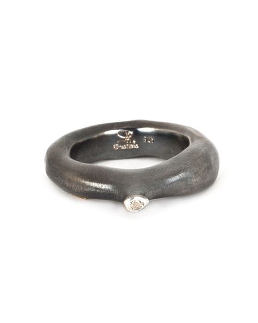 Rosa Maria | Metallic 'kirsten' Diamond Ring | Lyst