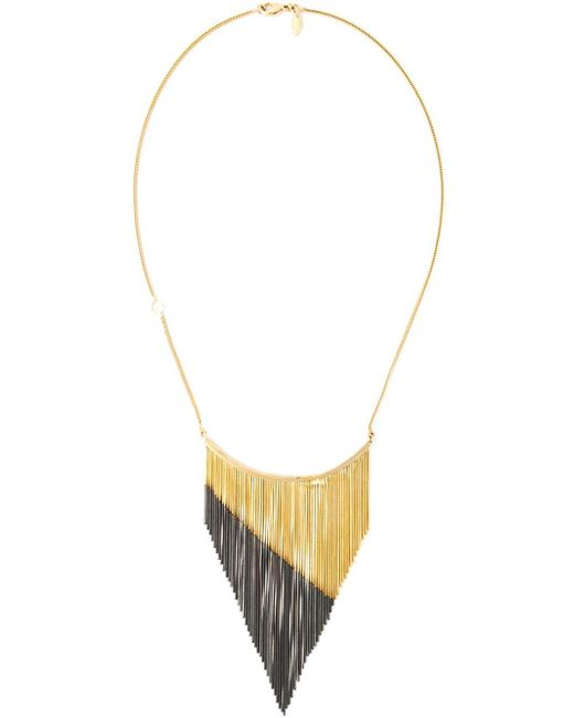 Iosselliani | Metallic 'black Hole Sun' Necklace | Lyst