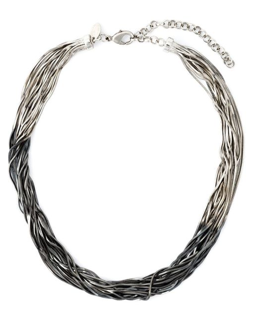 Iosselliani | 'black Hole Sun' Necklace | Lyst