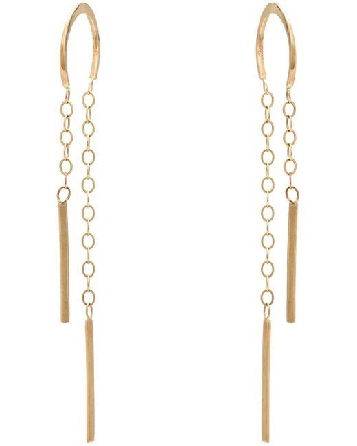 Melissa Joy Manning | Metallic Horseshoe Chain Earrings | Lyst