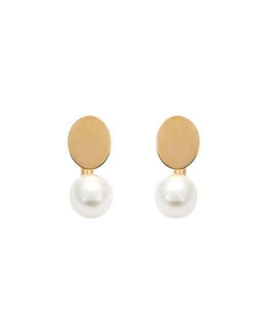 Chloé | White Chloé 'darcey' Earrings | Lyst