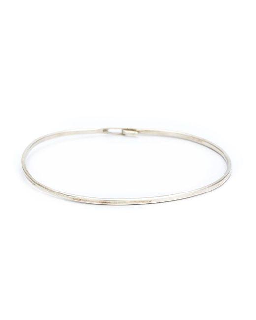 Werkstatt:münchen | Metallic Werkstatt:münchen Thin Hook Bangle | Lyst