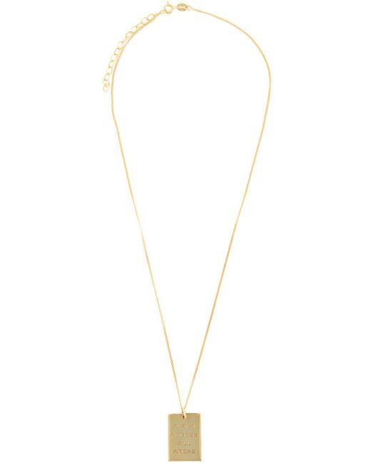True Rocks | Metallic 'aaa Pass' Necklace | Lyst