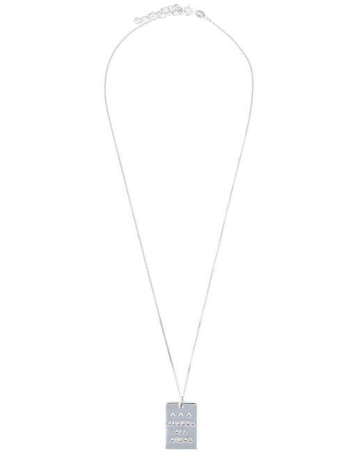 True Rocks | Metallic 'aaa Pass' Necklace | Lyst