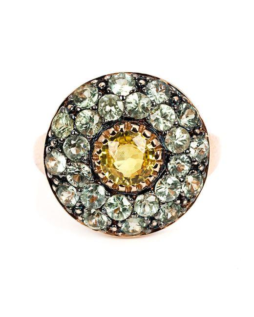 Ileana Makri | Yellow Sapphire Cocktail Ring | Lyst