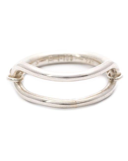 1-100 | Metallic '77' Ring | Lyst