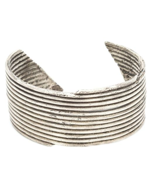 1-100 | Metallic '167' Cuff Bracelet | Lyst