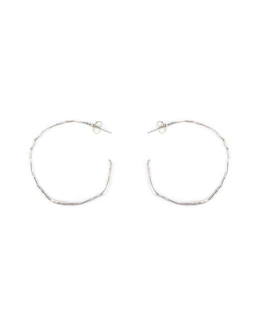 Natasha Collis | Metallic Hoop Stud Earrings | Lyst