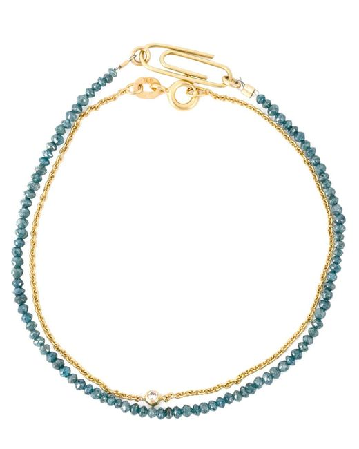 Uzerai Edits | Blue Diamond Bracelet Set | Lyst