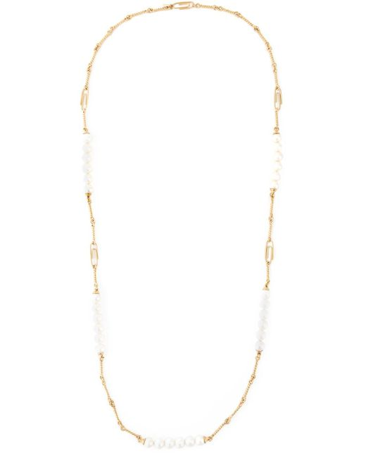 Aurelie Bidermann | Metallic Long 'cheyne Walk' Necklace | Lyst
